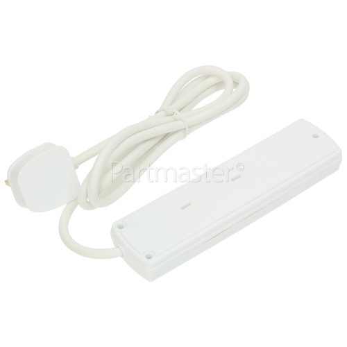 Lyvia 2m 4-Socket Extension Non-Switch Lead