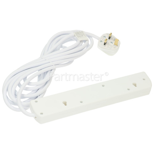 Lyvia 5m 4-Socket Extension Non - Switch Lead