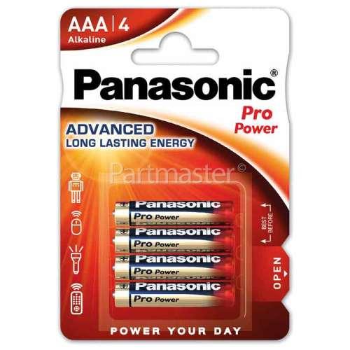 Panasonic AAA Pro Power Alkaline Batteries