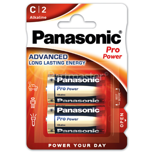Panasonic C Pro Power Alkaline Batteries