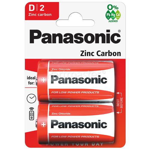Panasonic D Zinc Chloride Batteries