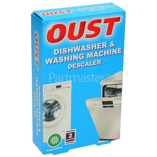 Oust Descaler: Dishwasher & Washing Machine (2 X 50ml Sachets)
