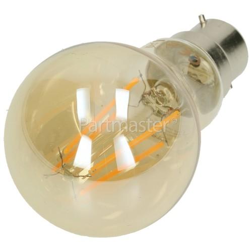 TCP BC/B22 LED Filament GLS Vintage Lamp (Very Warm White)