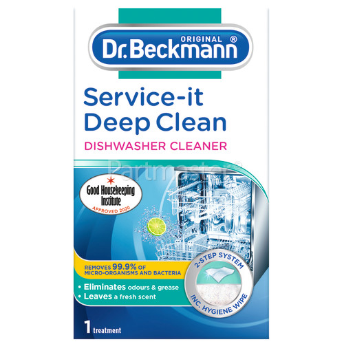 Dr.Beckmann Service-It Deep Clean Dishwasher Cleaner - 75g
