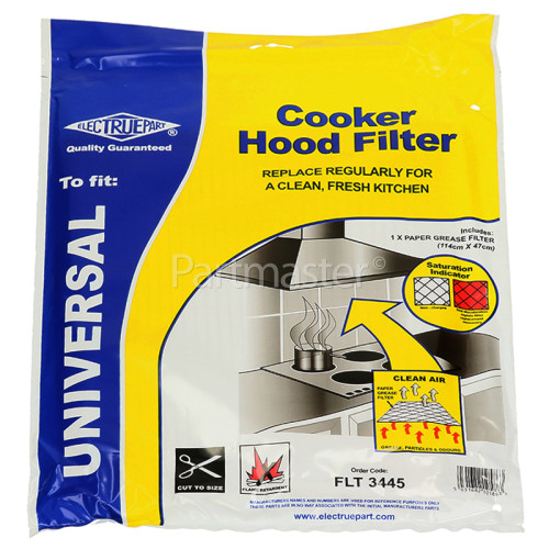Neff Universal Cooker Hood Grease Filter With Saturation Indicator ( 1140x470mm ) CUT TO SIZE
