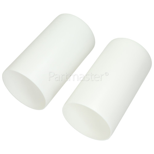 Round Wall Vent Kit & Reducer From 100mm To 80mm