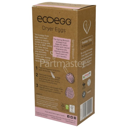 Ecoegg Spring Blossom Tumble Dryer Egg Shaped Dryer Balls