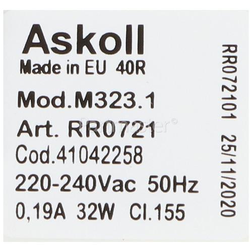 Concorde Drain Pump Assembly : Askoll M323.1 Art No RR0716 32w