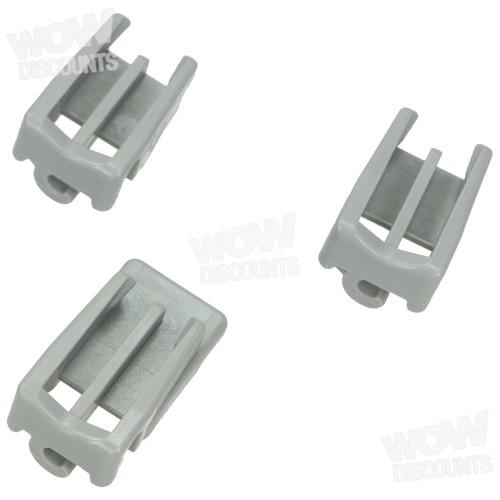 Siemens Bearing 418674 Part Bearing Clamp Bracket Top Rack Dishwasher Bosch