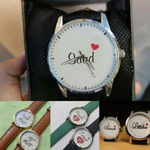 Custom Name Printed Watch