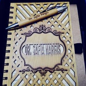 Wooden Notebook Pen deal