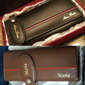 Customized Ladies Wallet