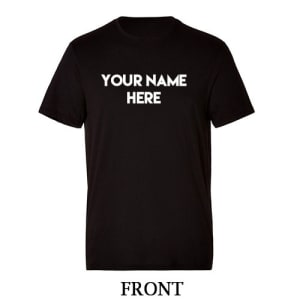 Customize Name T-shirt Printing