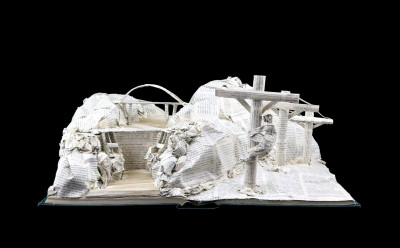 Book Sculpture_Salt River Project_View 2