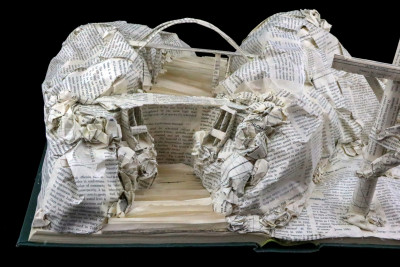 Book Sculpture_Salt River Project_Detail 3