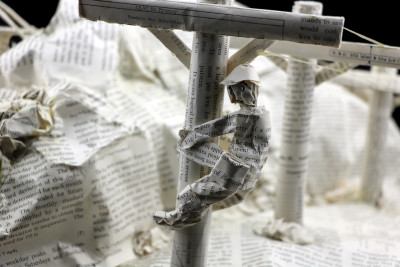 Book Sculpture_Salt River Project_Detail 1