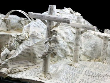 Book Sculpture_Salt River Project_Detail 2