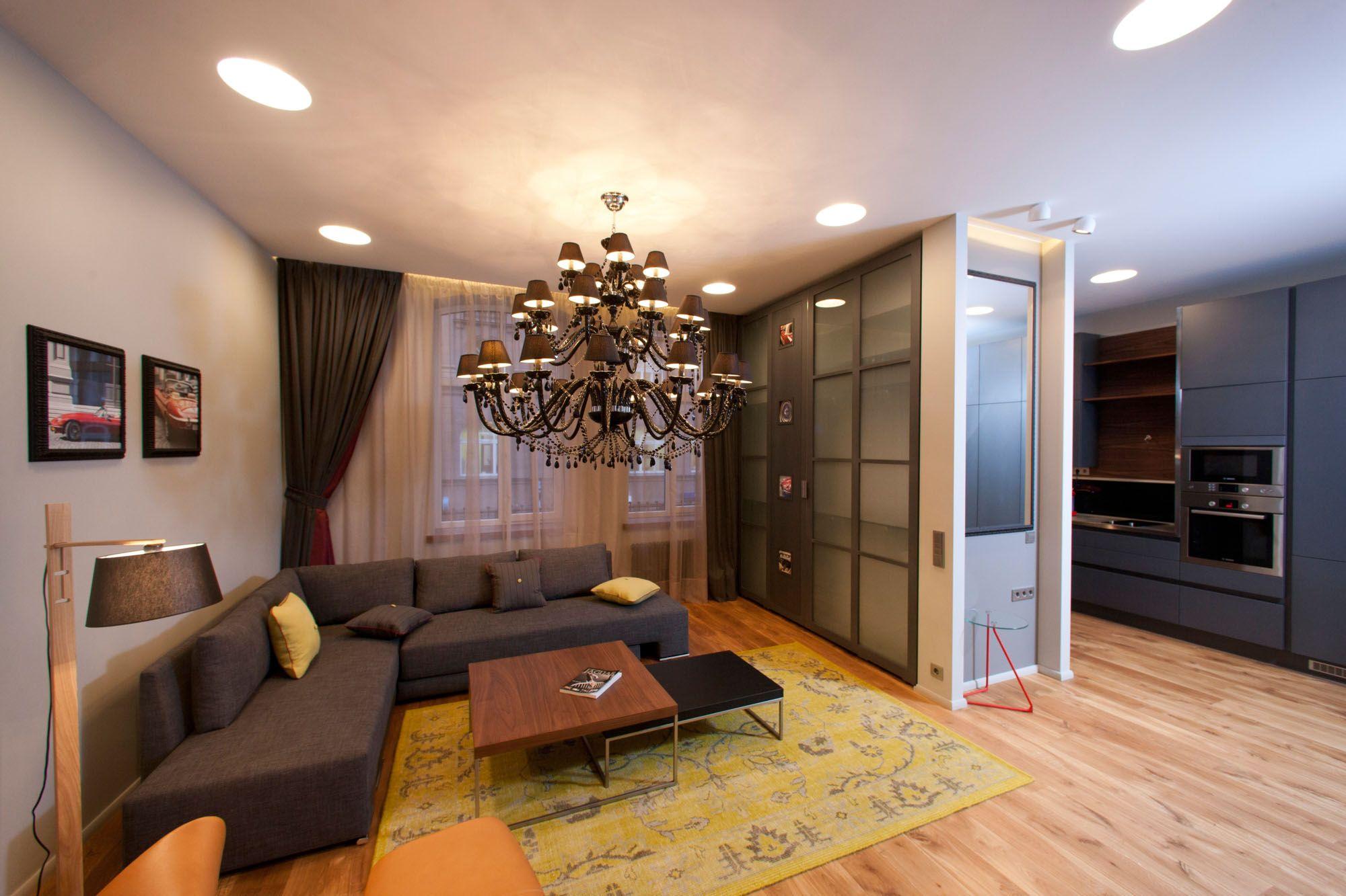 Особенности перепланировки квартиры студии