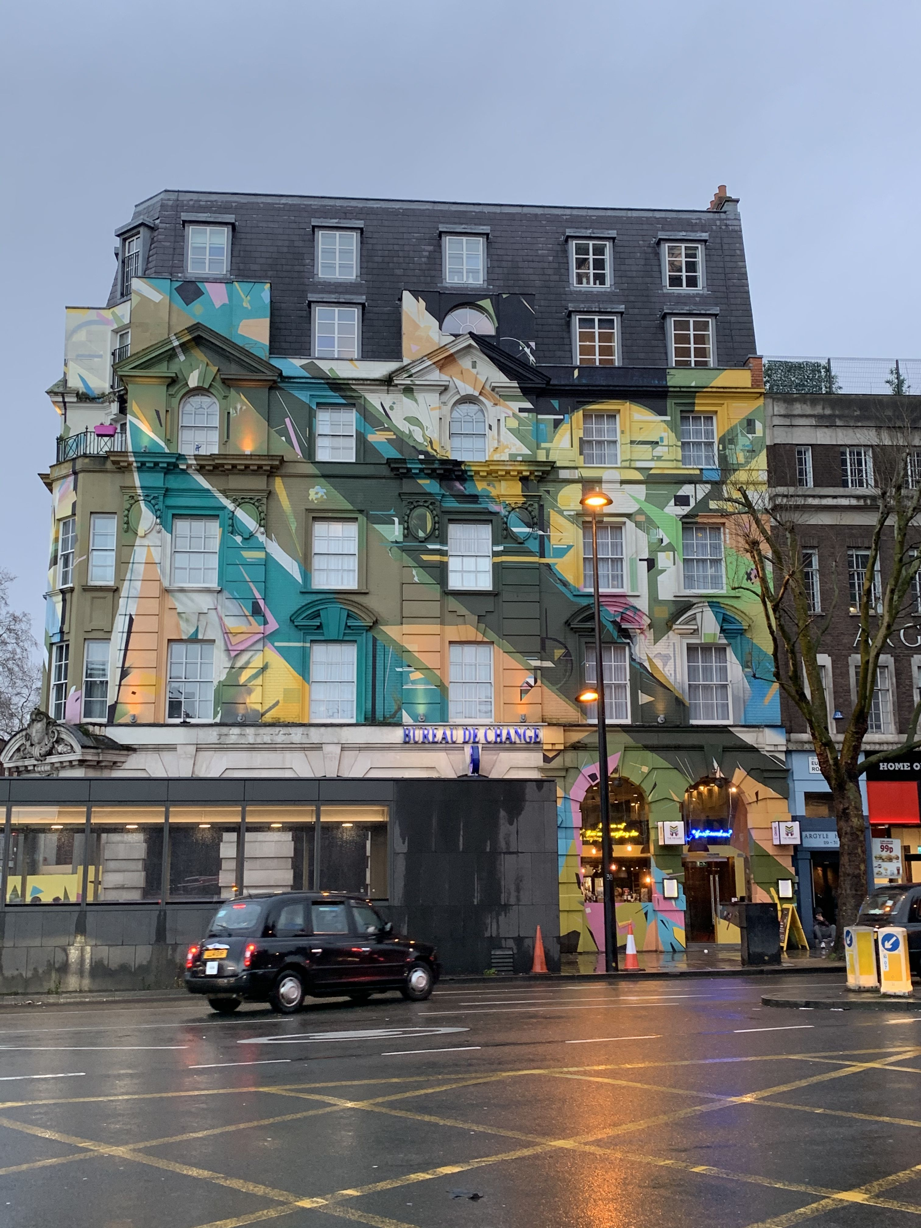 Colourful Building In London