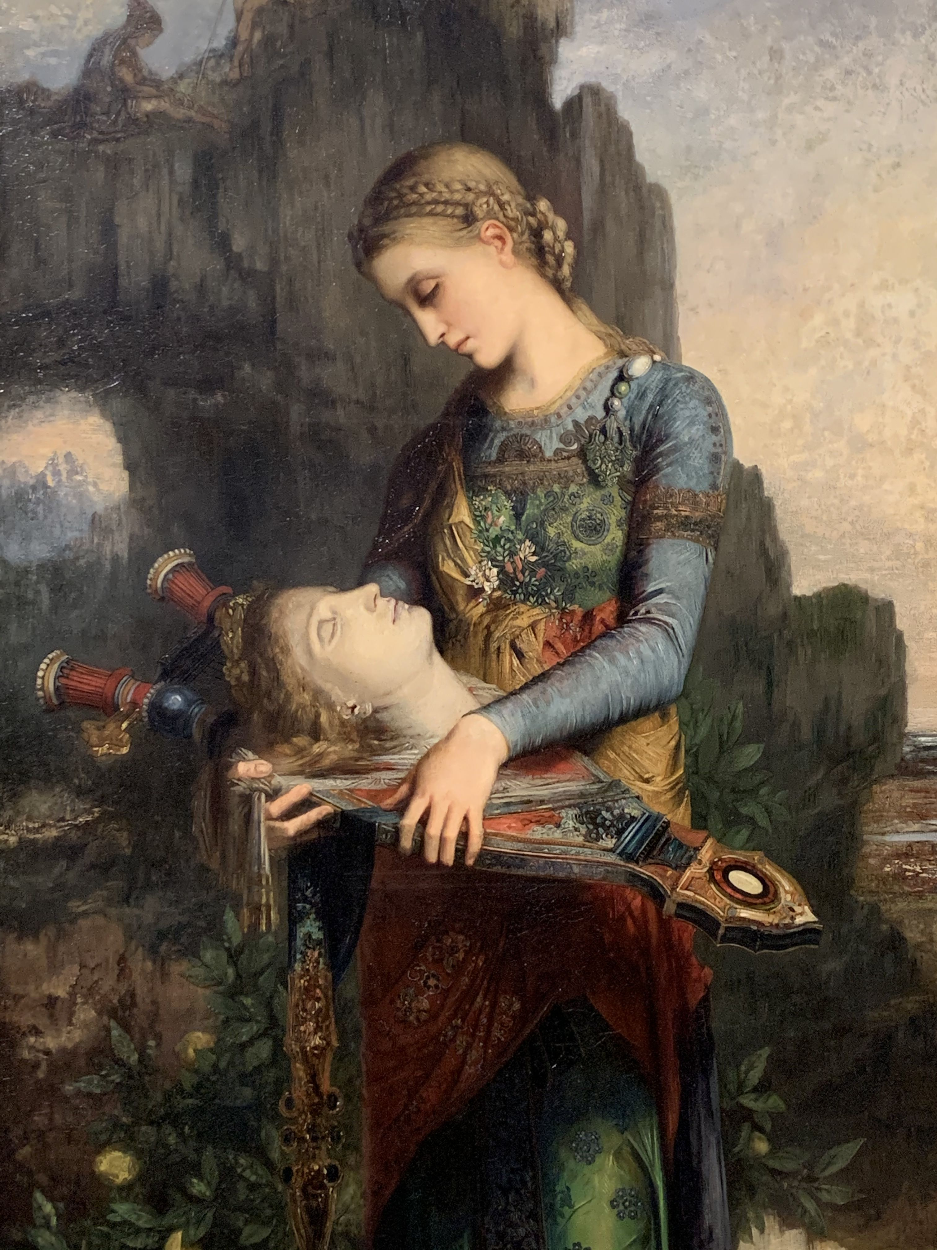 Symbolist painting by Gustave Moreau