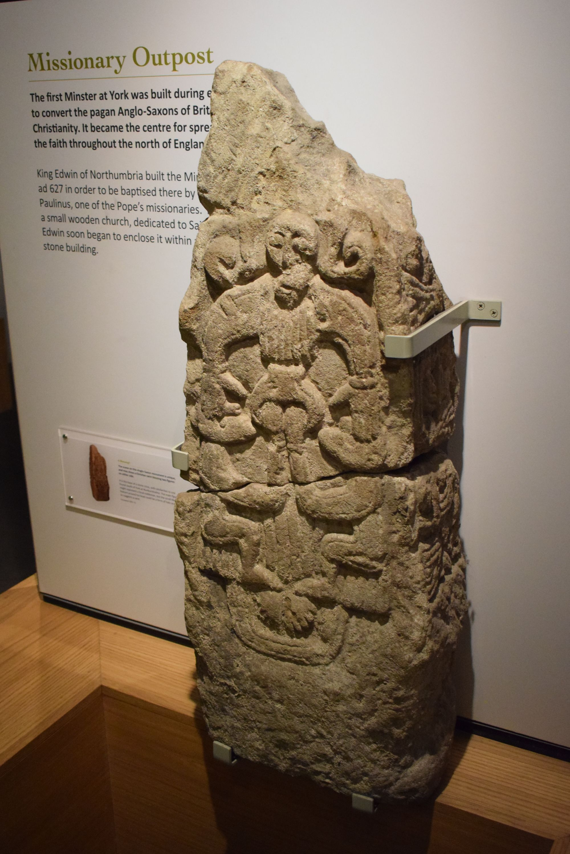 Anglo-Saxon carving in York