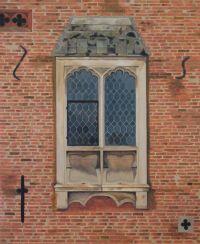Oxborough Hall window