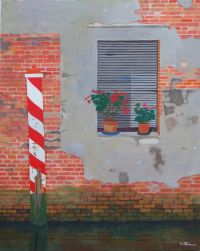 Venetian window painting