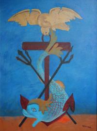 Neptune motif from Beverley Minster