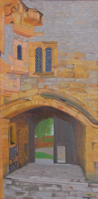 Haddon Hall painting