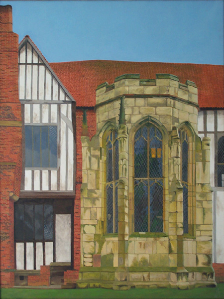 Gainsborough Old Hall oil painting