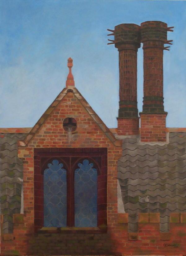 Oxborough Hall painting