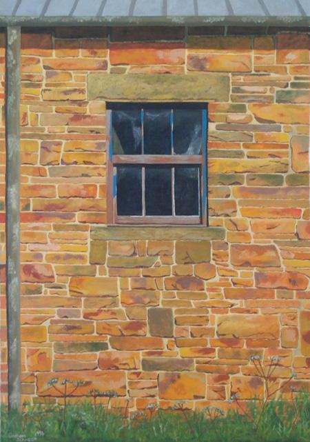 Derbyshire farm window