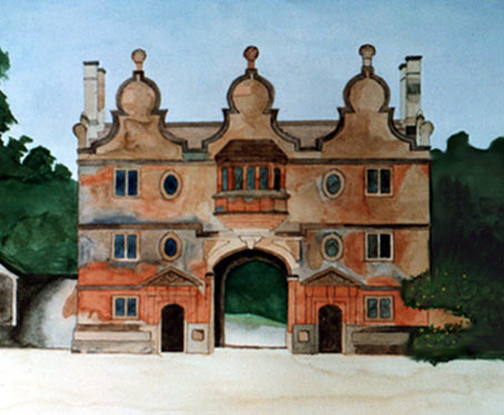 Stanway House painting