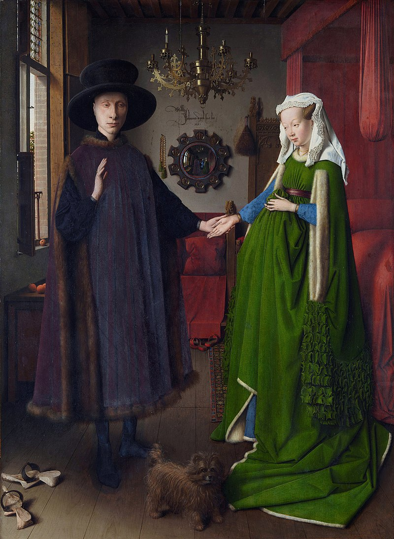 The Arnolfini Portrait, 1434