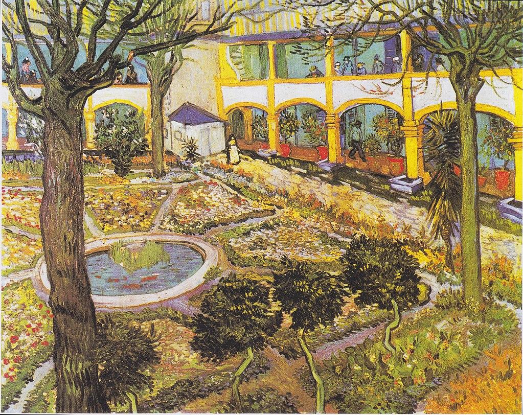Van Gogh hospital painting
