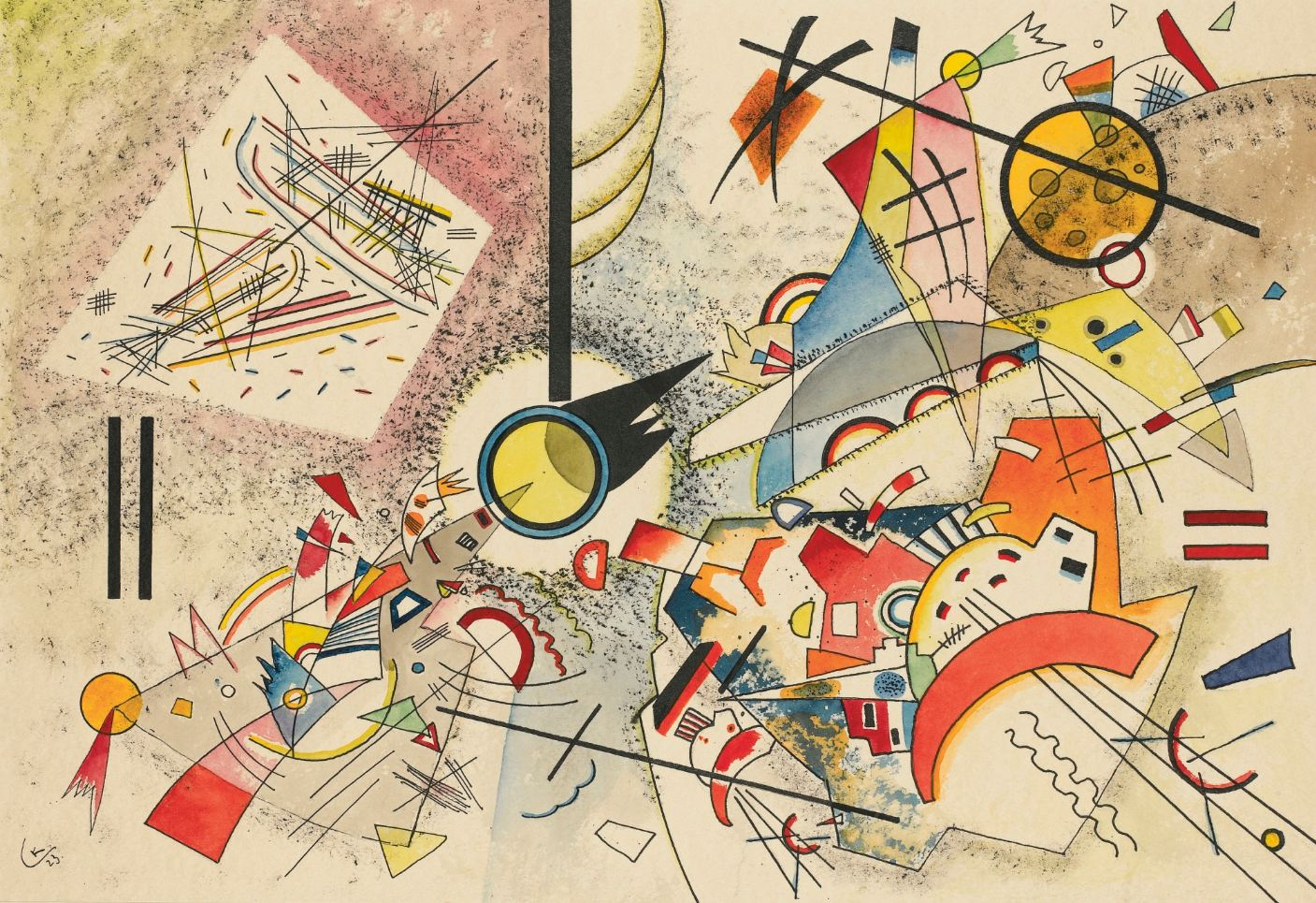 Kandinsky abtract masterpiece