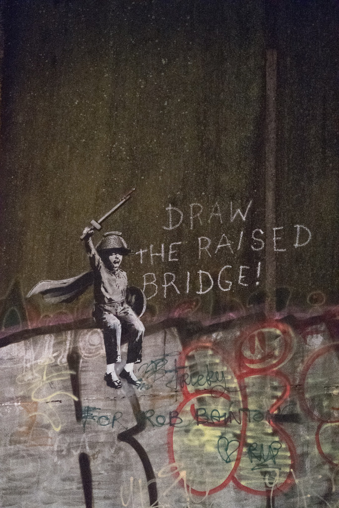Banksy art in Hull