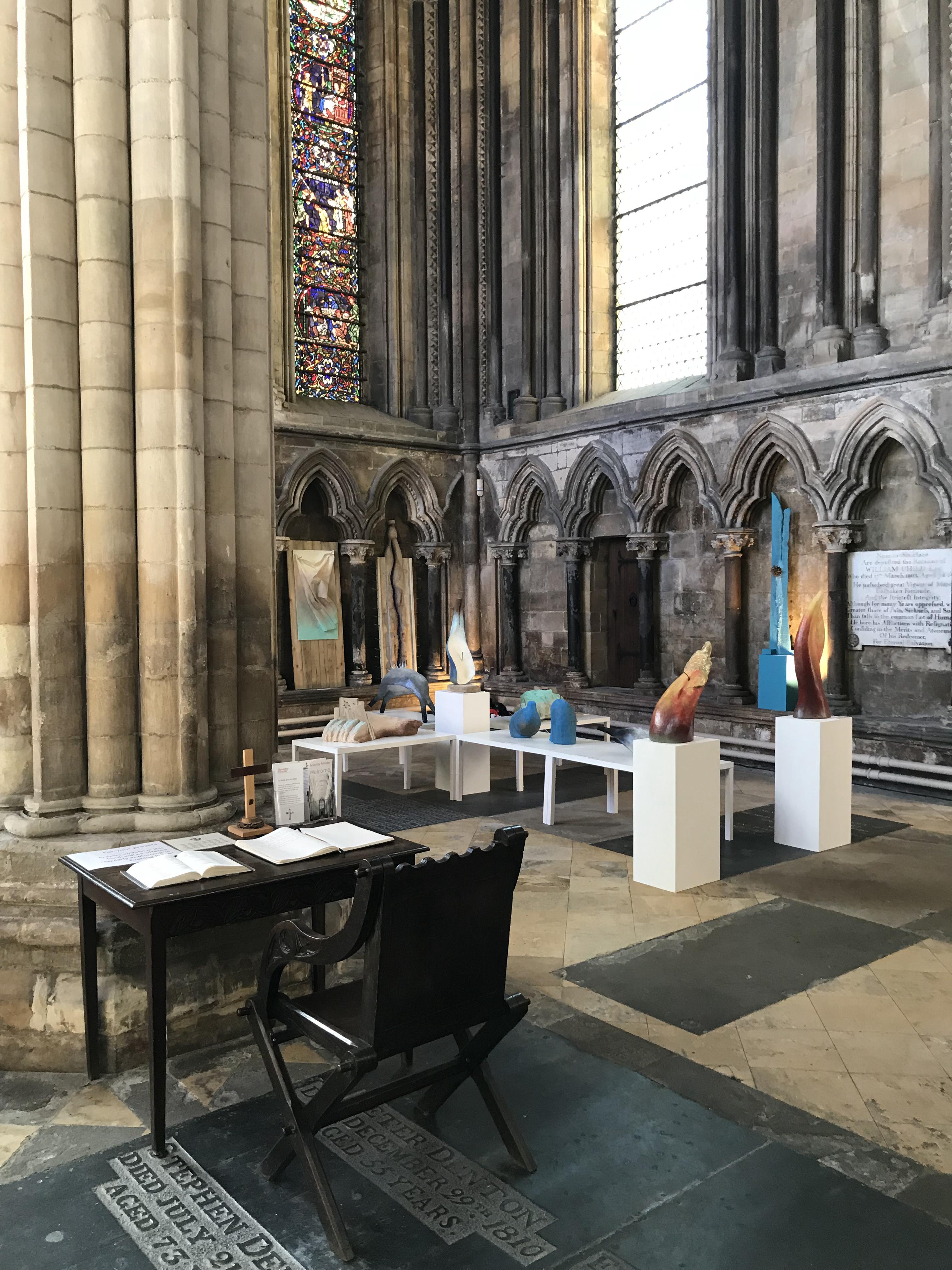 Lent installation in Beverley Minster