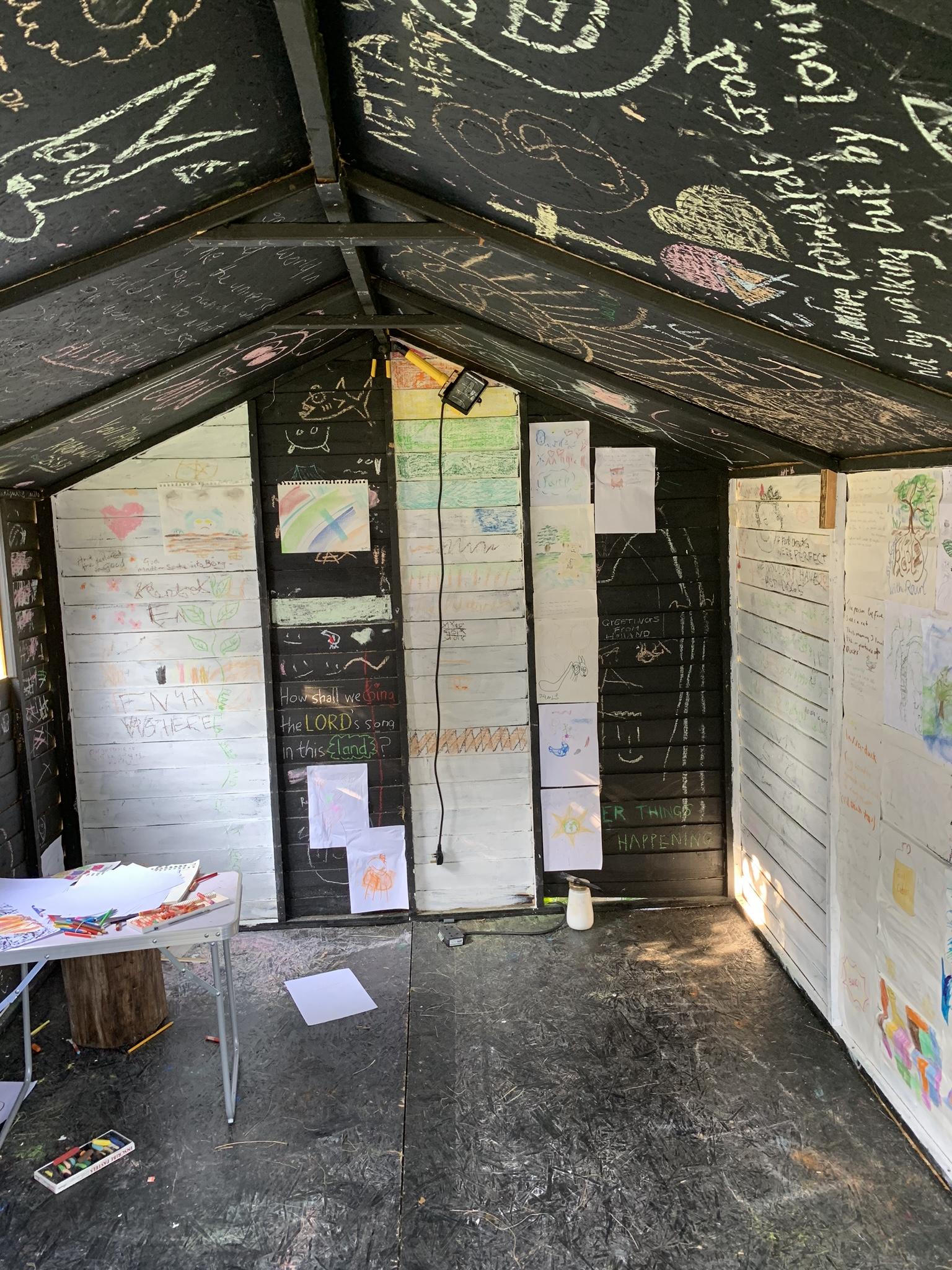 Art shed at Greenbelt 2019