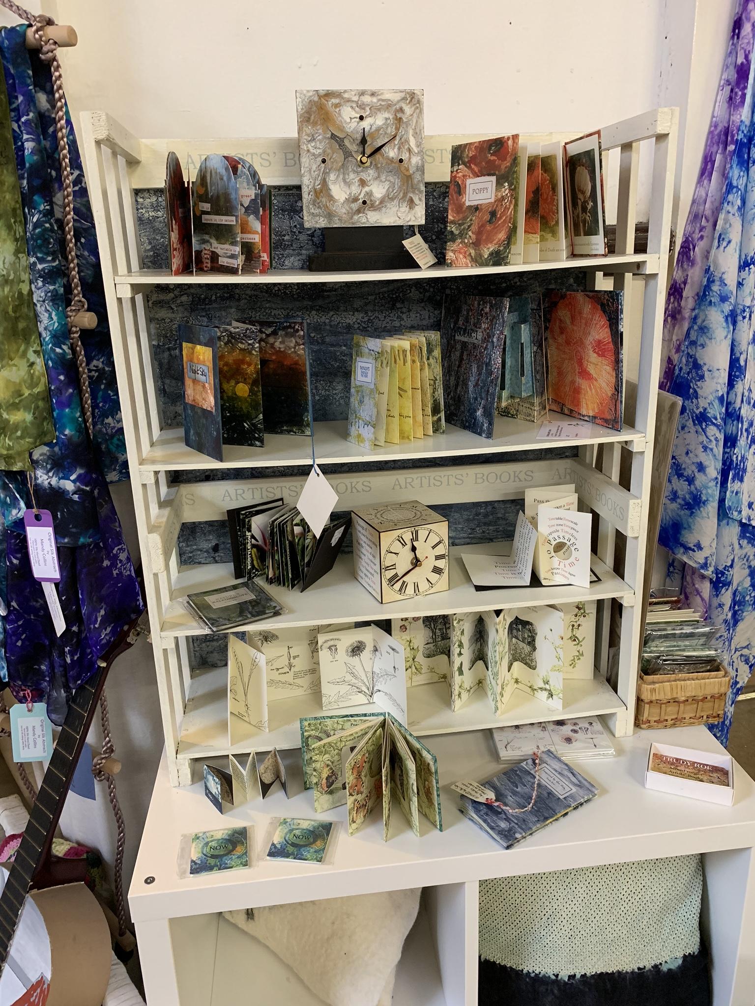 Craft clocks and bookshelf items