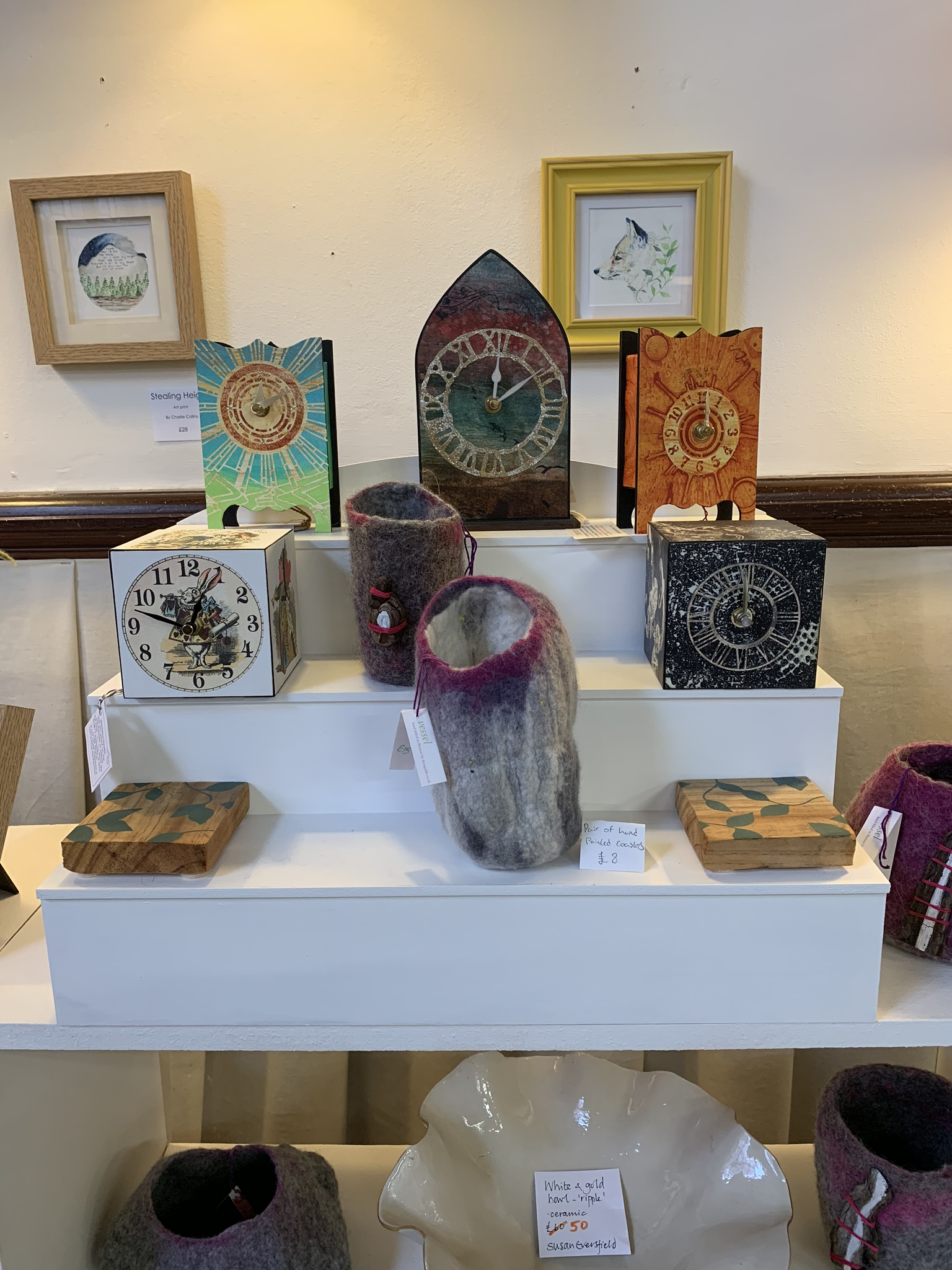 Ceramics and clocks