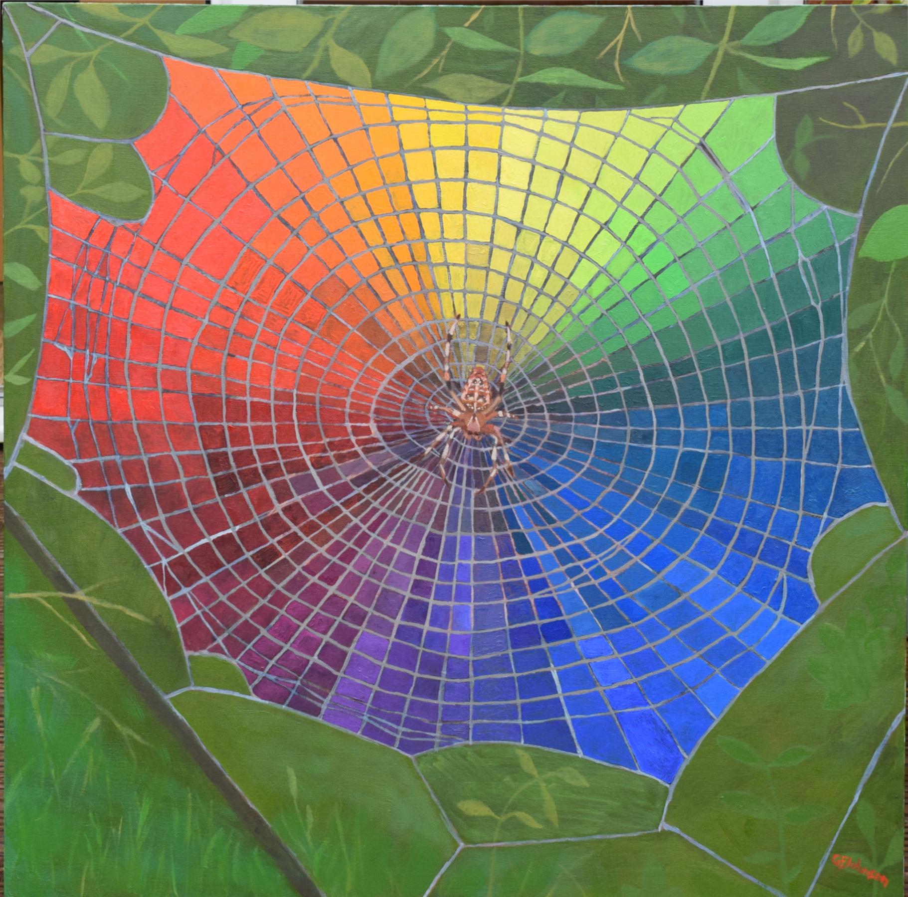 Spider colour wheel