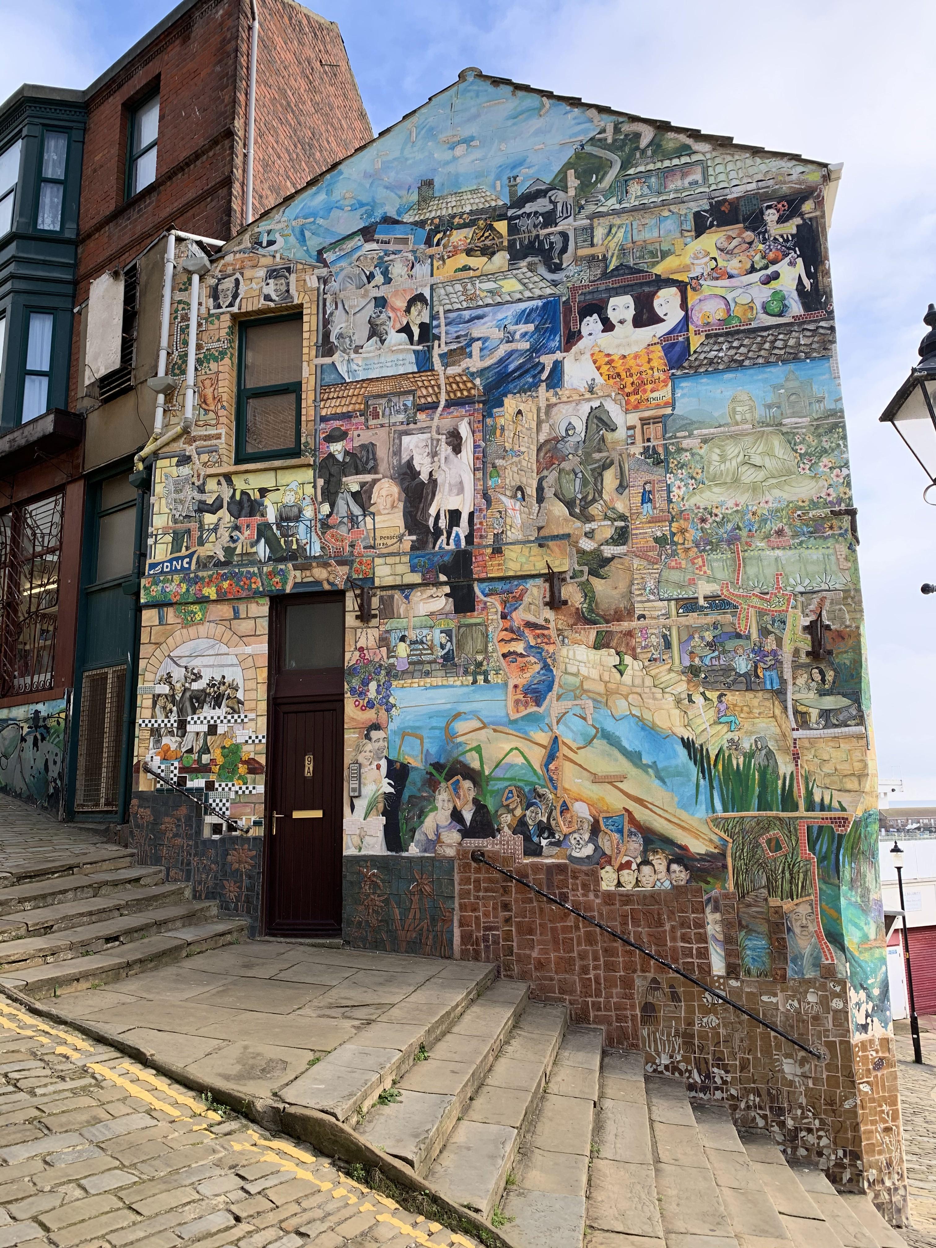 Street art in Scarborough, England
