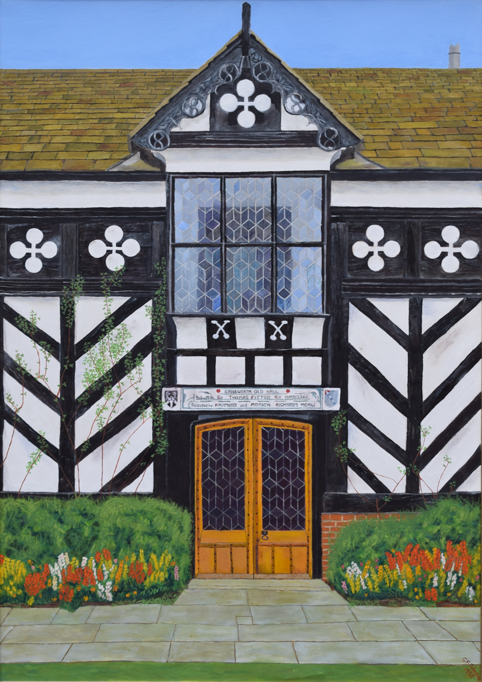 Gawsworth Hall painting
