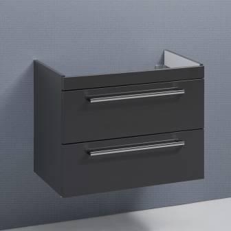 Mit 2 Auszugen Kronenbach Waschtischunterschrank 80 Cm Mit