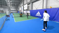 【体験レポート】超・初心者がテニスに挑戦!