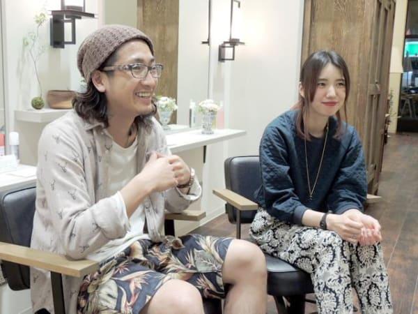 相馬 ディレクター & 齋藤 店長