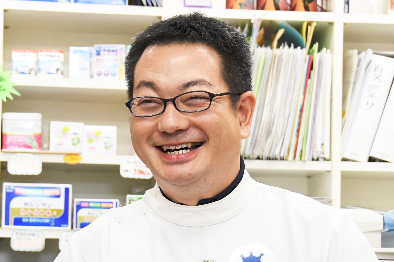 昭和調剤薬局 取締役 小松 礼次郎