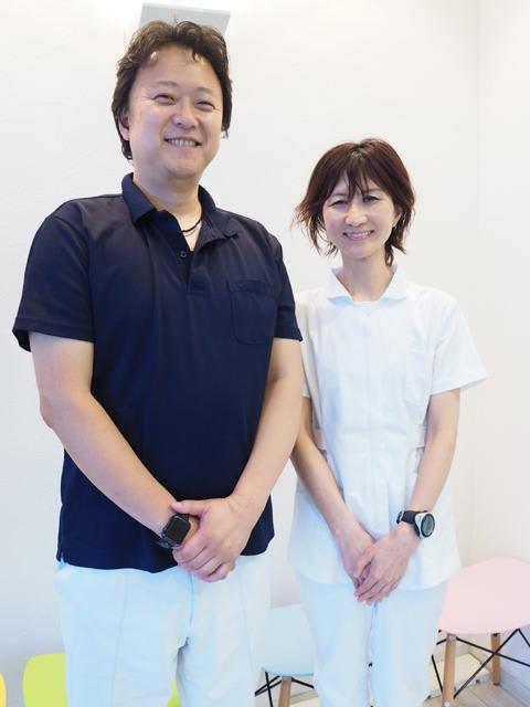 もりた歯科クリニック 森田 名 院長 & 陽子 歯科医師