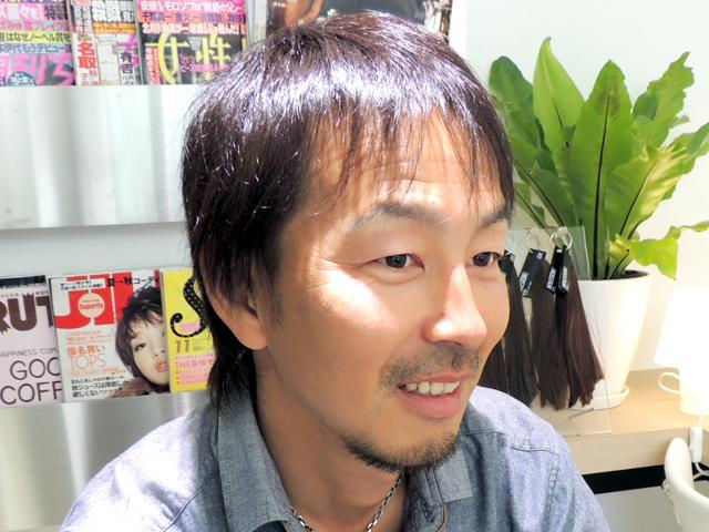 美容室 ケアズ 福田 泰敏 代表